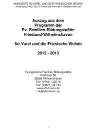 Ort - Ev.-luth. Kirchengemeinde Varel