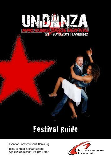Festival guide - UNiDANZA 2012 - The Afro Cuban Dance Festival ...