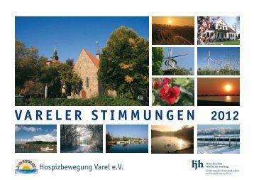 """Hospizkalender """"Vareler Stimmungen 2012"""" - Hans-Joachim ..."""