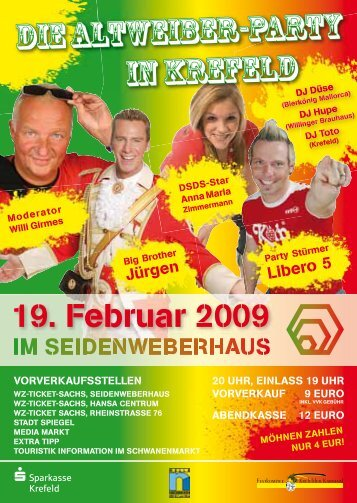Die Altweiber-Party In krefeld