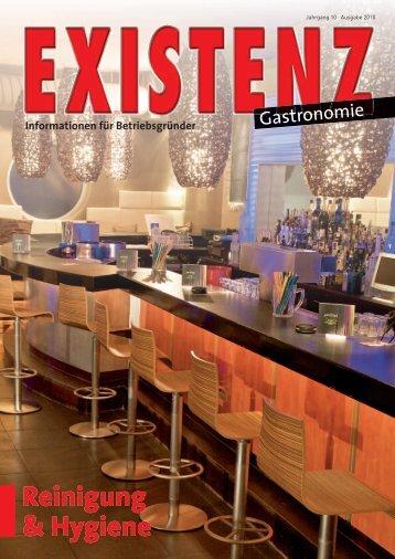 Reinigung & Hygiene - Existenz Gastronomie