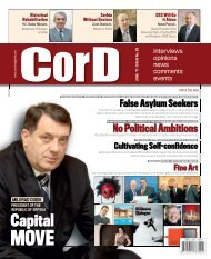 interview - CorD magazine