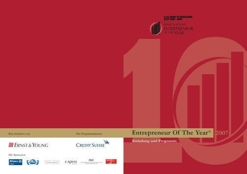 Entrepreneur Of The Year® 2007 - Home - Ernst & Young - Schweiz