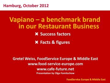 Vapiano Story. Fact and Figures. Gretel Weiss.pdf