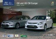 Preisliste i30 Europe - Hyundai