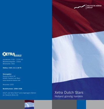 Xetra Dutch Stars - Börse Frankfurt