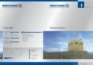 Wachturmkanzel Datenblatt - Drehtainer GmbH