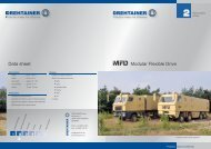 Data sheet Modular Flexible Drive - Drehtainer.com