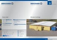 Data sheet Modular buildings - Drehtainer.com