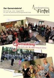neu macht der Mai – JUZ Fintel - Kirchenkreis Rotenburg