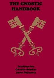 Gnostic Handbook - The Masonic Trowel