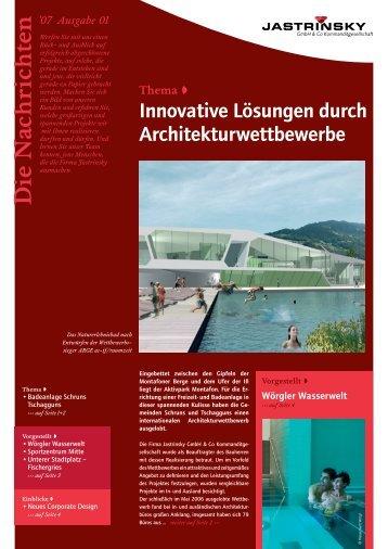 gehts zum Download - Jastrinsky GmbH & Co Kommanditgesellschaft