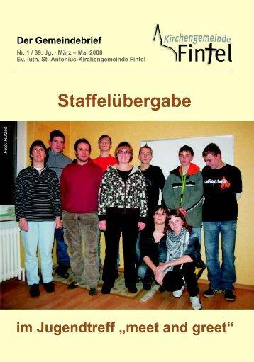 Ausgabe 1/2008 - Kirchenkreis Rotenburg