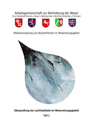 Laichhabitate Teil 1 - FGG Weser