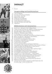 Bildinformationen und -interpretationen - C.C. Buchner