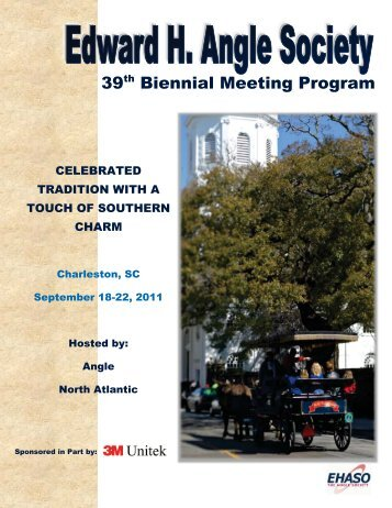 39 Biennial Meeting Program - Angle North Atlantic