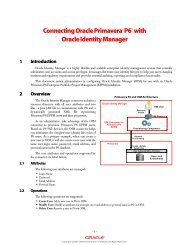 Oracle Primavera Senior Sales Consultant - Animp