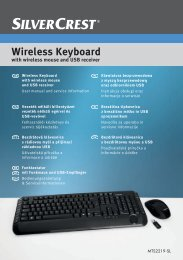 Wireless Keyboard - Targa Service Portal