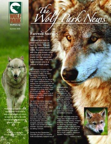 Farewell Socrates - Wolf Park