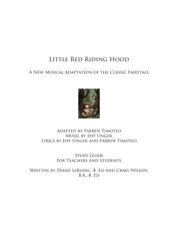 analysis of little red riding hood essay