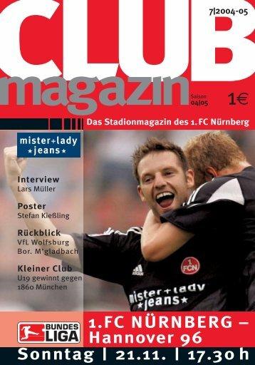 die Club-Collection ist da! - 1. FC Nürnberg