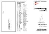 Ausschreibung - Augsburger Segler-Club e.V.