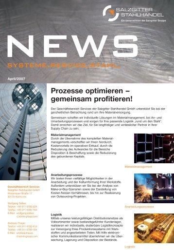 news 10 - Salzgitter Mannesmann Stahlhandel