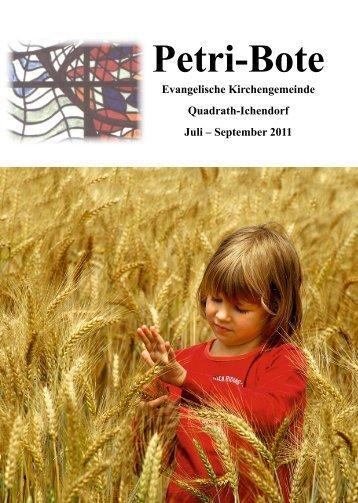 Petri-Bote 2011.03 Webformat, Layout 2 - evangelisch-in-qi.de