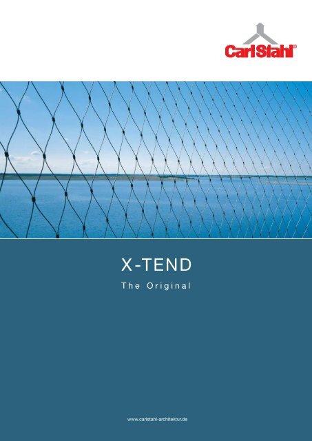 Produkt-Katalog X-TEND - Carl Stahl Architektur