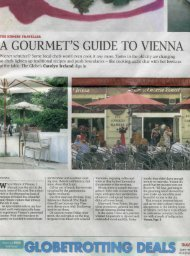 A G()URMET'S GUIDE TO VIENNA - Zum Schwarzen Kameel