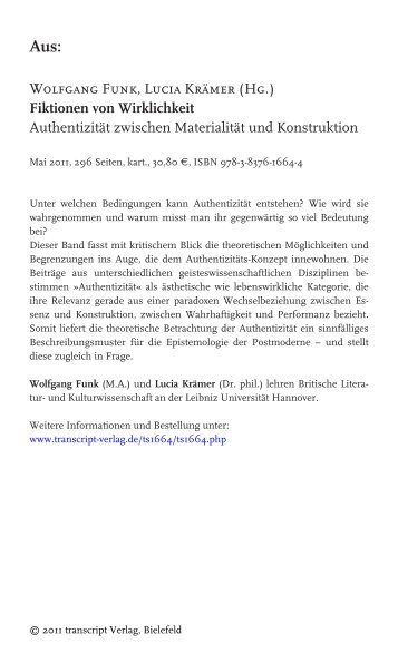 Barbara Paul Johanna Schaffer Hg Mehrwert Transcript Verlag
