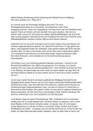 Kathrin Passig: Erwiderung auf die Verleihung ... - Stadt Neumünster