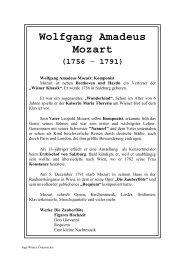 Wolfgang Amadeus Mozart (1756 - Lehrerweb