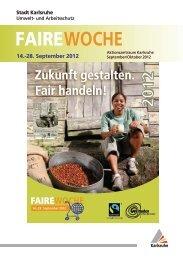 Faire Woche 2012 - Karlsruhe