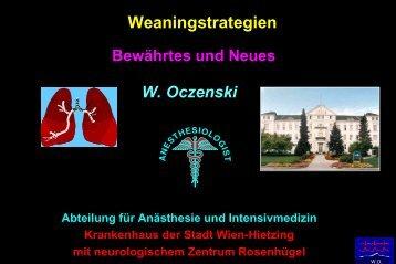Weaning-Strategien - Kabeg