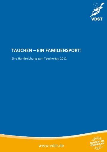 TAUCHEN – EIN FAMILIENSPORT!