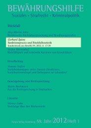 BEWÄHRUNGSHILFE - Universität Konstanz