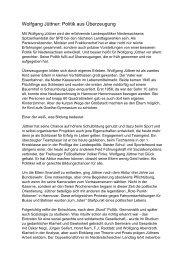 Wolfgang Jüttner_Politik - SPD Niedersachsen