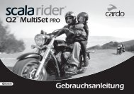 scala rider Q2™ MultiSet pro - Cardo Systems, Inc