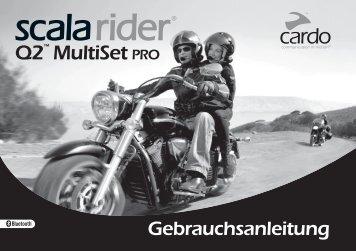 scala rider Q2™ MultiSet pro - Cardo Systems, Inc