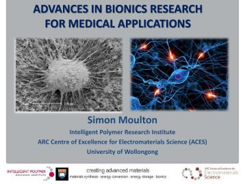 advances in medical bionics research - Engineers Australia