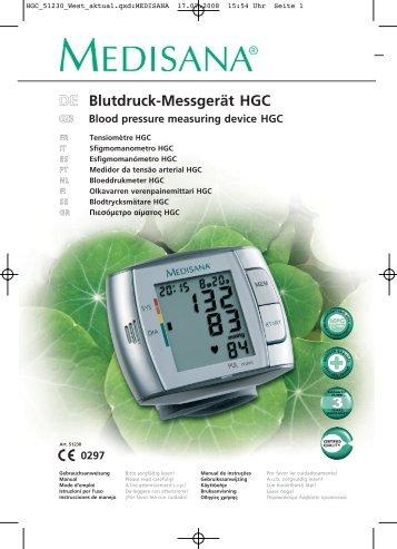 DEE Blutdruck-Messgerät HGC - Aktivwelt