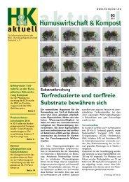 Ausgabe 03/2011 [pdf] - Bundesgütegemeinschaft Kompost e.V.