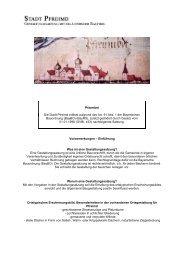 Gestaltungssatzung - als PDF - Stadt Pfreimd