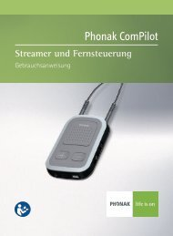 User Manual ComPilot - Phonak - life is on