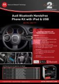 Audi Bluetooth Handsfree - Connects2 - Page 2