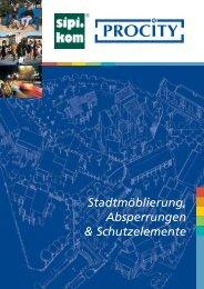 Stadtmöblierung, Absperrungen & Schutzelemente - Sipirit GmbH ...