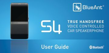 User Guide - BlueAnt Wireless