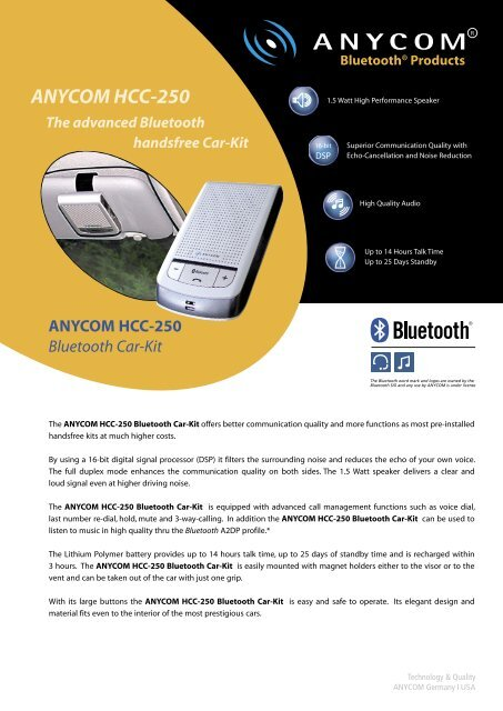 ANYCOM BLUETOOTH USB-250 DRIVERS FOR MAC