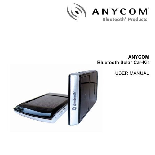 ANYCOM BLUETOOTH DRIVERS DOWNLOAD (2019)